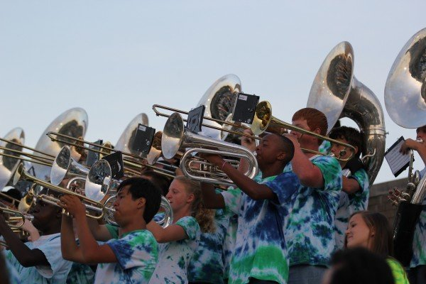 South Lakes High School Band/Credit: Melissa Gifford