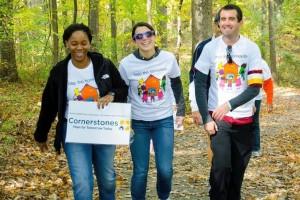 10th annual community walk (Photo via Facebook/Cornerstones)