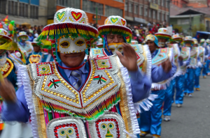 Bolivian dancers (Photo via Flickr/parivero)