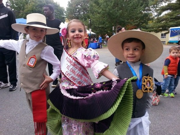 Fun at Latino Day, Oct.18 2014/Courtesy Gerry Connolly