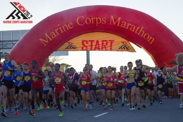 Runners at the 39th Marine Corps Marathon/Credit: MCM via Flickr