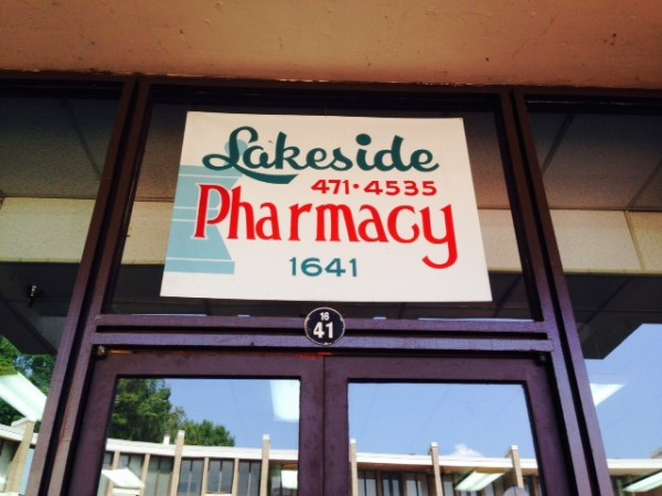 Former Lakeside Pharmacy