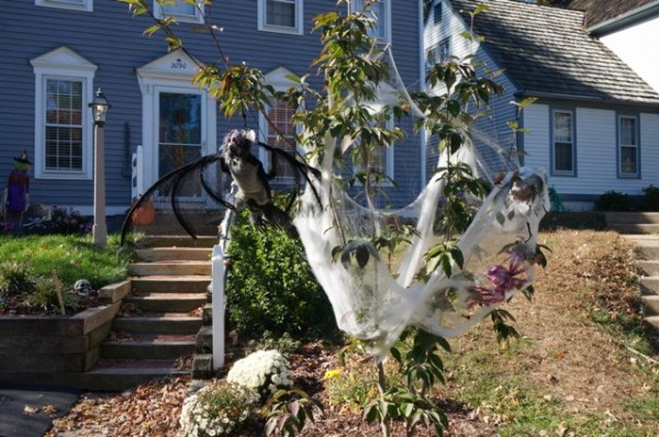 Decorations in Reston, Halloween 2014