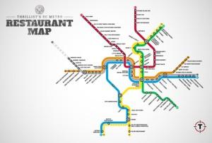 Thrillist Restaurant Map/Credit: Thrillist