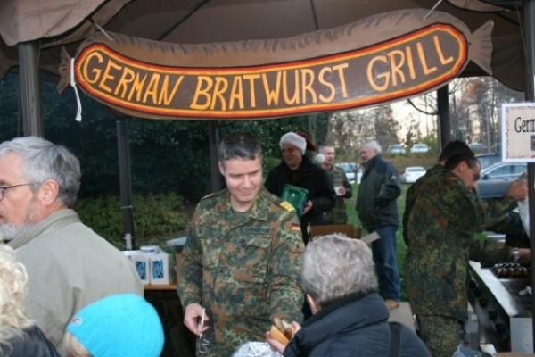 Reston Christkindlmarket/Courtesy of German Armed Forces