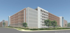 Rendering of garage at Innovation Center/Credit: Fairfax County
