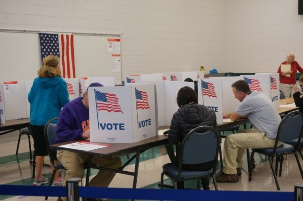 Election Day 2014 at South Lakes High School