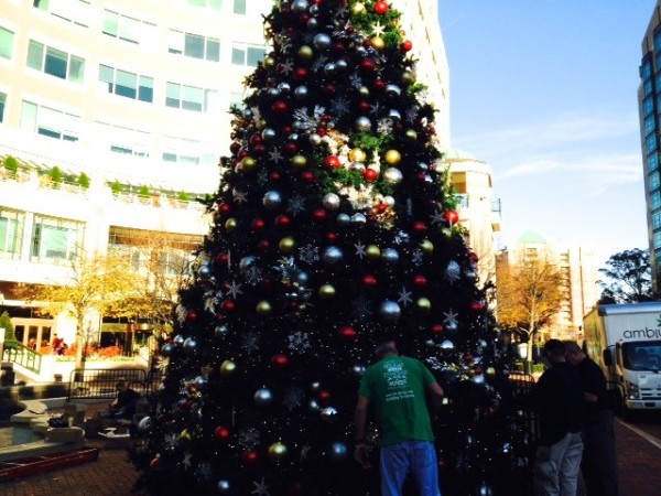 Reston Town Center Christmas Tree 2014