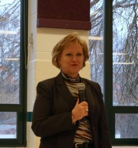 FCPS Superintendent Karen Garza