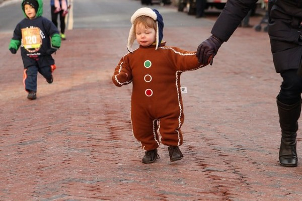 Gingerbread Man Mile at RTC/Credit: Potomac River Running