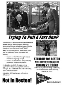 Rescue Reston flyer