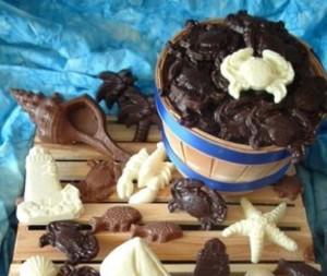 Chocolates made by Chesapeake Chocolates/Credit: Yelp