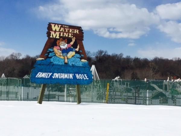 Water Mine in Winter