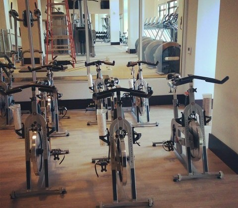 Exercise room at The Harrison/Courtesy of The Harrison