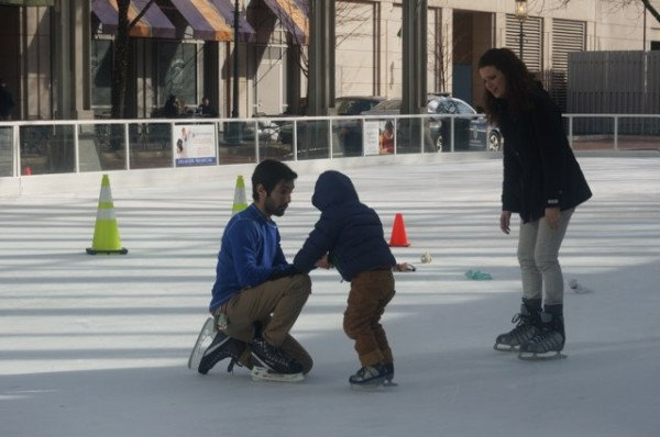 Skating lesson at RTC