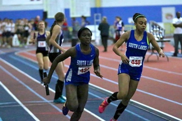 Relay team at Regionals/Submitted by Val Lister