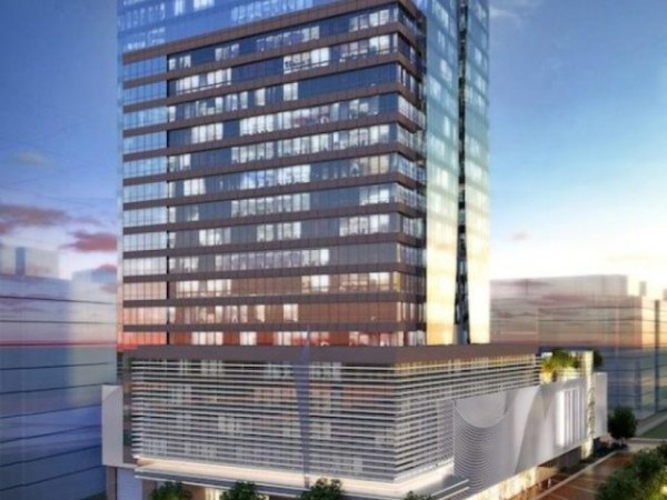 Rendering of 23-story tower planned for Reston Parkway/Credit: RTC Partnership