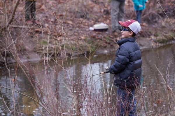 Reston Association Kids Trout Fishing Day 2015/Credit: RA via Facebook