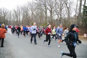 Runners Marathon Course