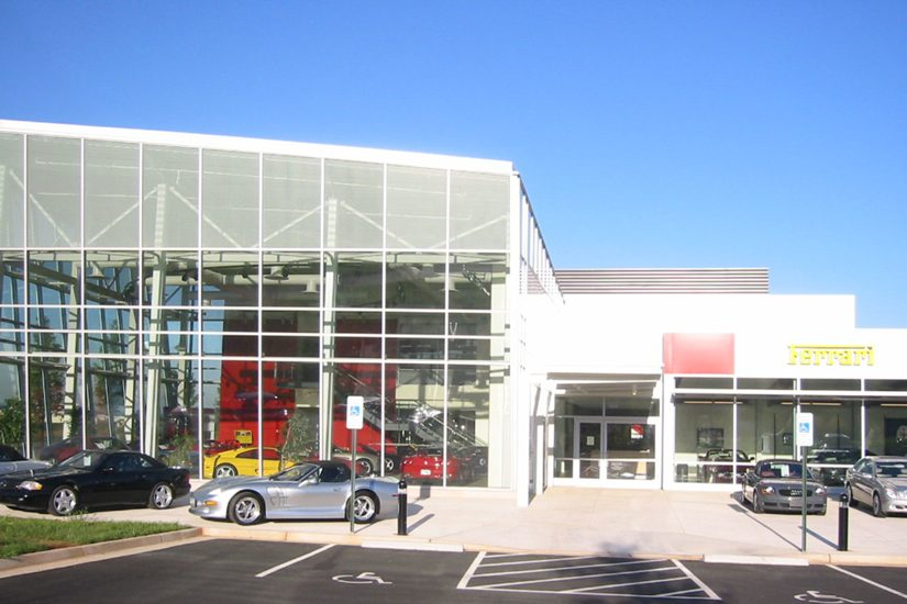 Reston Man Plows Car Into Ferrari Showroom in Robbery | Reston Now