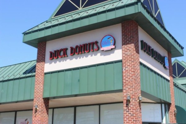 Sign is up at Duck Donuts in Herndon/Credit: Duck Donuts