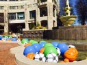 April Fools Day at Reston Town Center