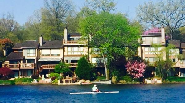 Rowing on Lake Thoreau/Credit: Ellen Moyer