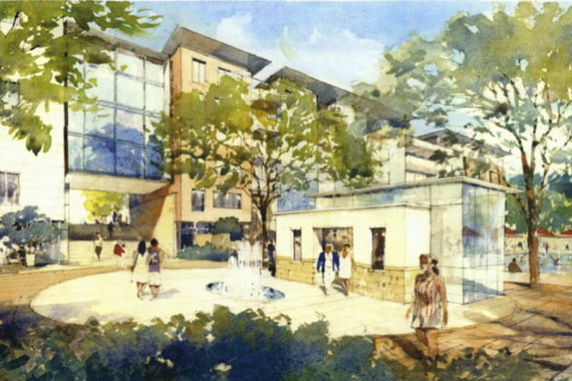 Rendering of St. Johns Wood/Courtesy Bozzuto