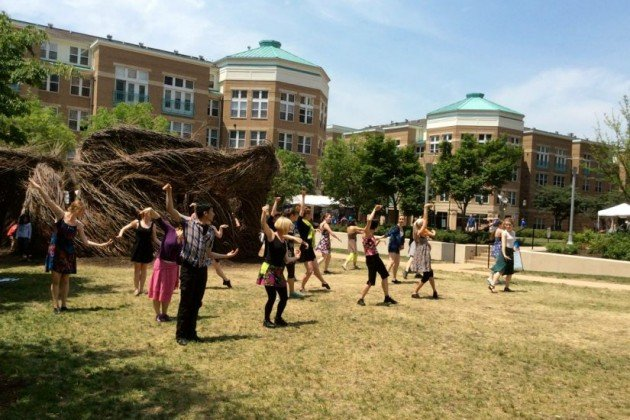 Gin Dance Company performs at Northern Virginia Fine Arts Festival/Credit: IPAR
