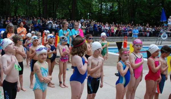 National Anthem at Reston Youth Triathlon/Credit: Raba Letteri