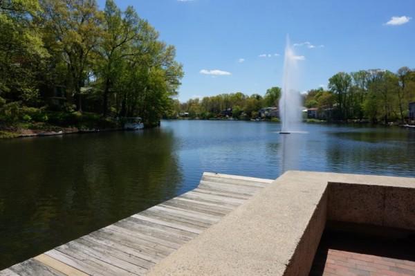 Lake Anne Fountain