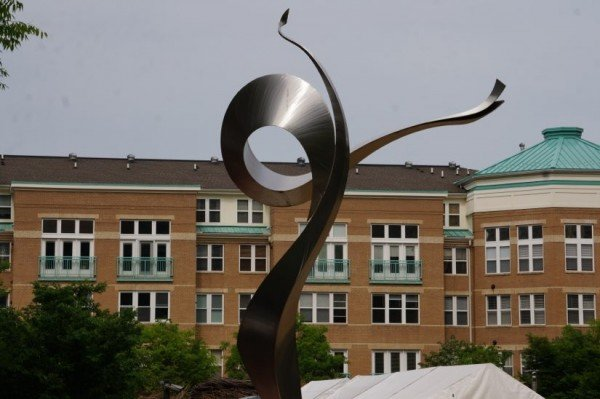Sculpture at Reston Town Center