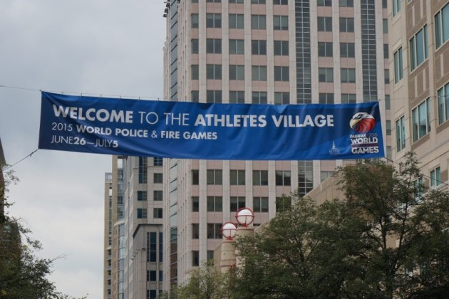 Welcome to the Athletes Village in Reston