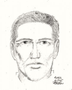 Sketch of suspect in June 11 robbery/FCPD