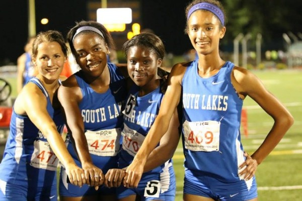 SLHS 4x400 team/Credit: SLHS track