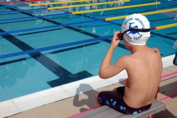 Swimmer at RSTA Individual Medley meet /Credit: Leslie Sogandares