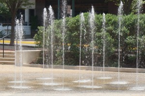 Fountain at Town Square Park, Reston Town Center