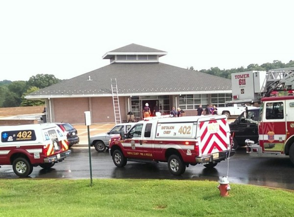 Emergency crews at Lake Fairfax Park/Credit: Paul Boyum