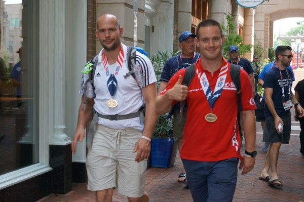 World Police & Fire Games Athletes at Reston Town Center