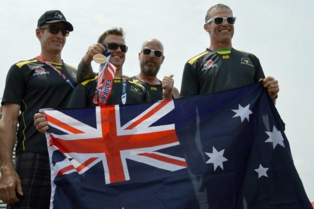 Australian Ultimate Firefighter medal winners/Credit: NOVA Fire Buffs