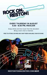 Rock On, Reston/Courtesy Reston Town Center
