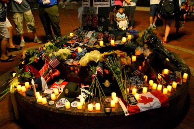 Memorial for Carlos Silva/Credit: WPFG