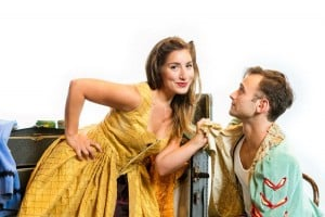 Emily Levey and Stephen Russell Murray in Kiss Me Kate at NextStop Theatre/Credit: NextStop Theatre