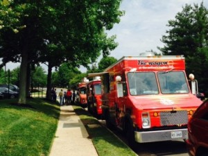 Food Trucks on Metro Center Drive