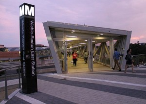 Wiehle-Reston East station/Credit: Elvert Barnes vis Flickr