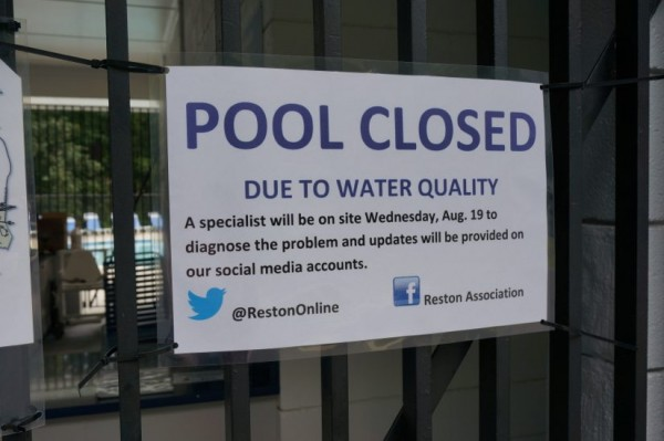 Dogwood Pool closed