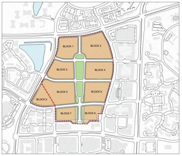 Reston Town Center Map: Title Issue Protecting Natural Space May Impede Town