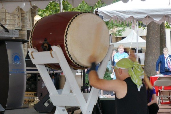 Drummer at Reston Multicultural Festival 2015