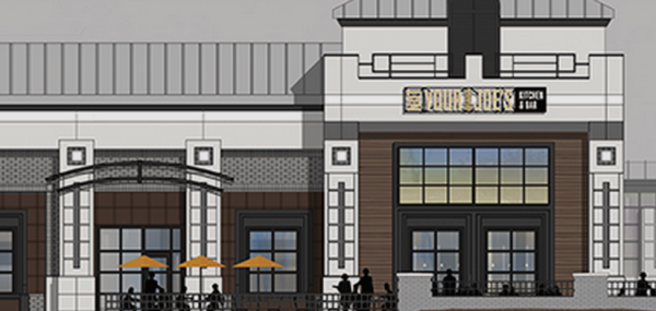 Rendering of Not Your Average Joe's in Reston/Credit: NYAJ