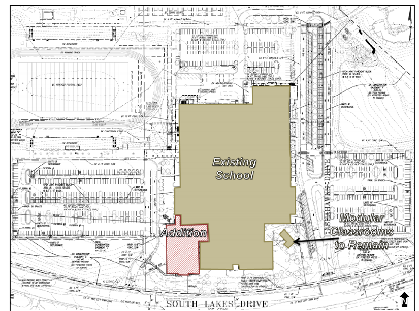 On The Docket South Lakes High Schools Expansion Plans Reston Now